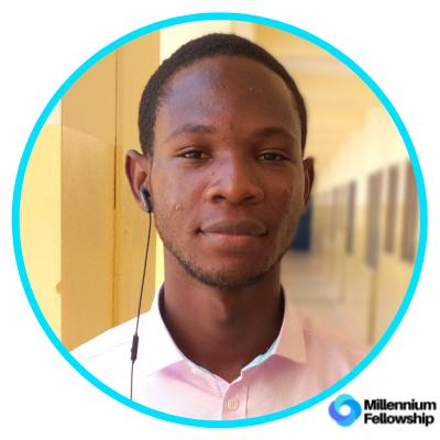 Wisdom Senanu Mensah _, ucc,      millennium,      sdg4,     ghana,      2019,      africa,