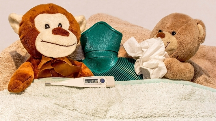 LET SICK KIDS GET WELL AT HOME. HOW ABOUT A TRUSTED HOME BUDDY FOR COMPANY?