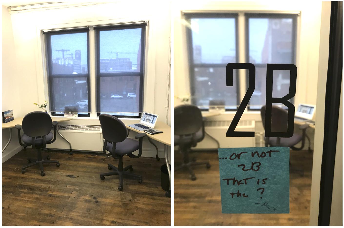 Office 2B - Price: $500/month