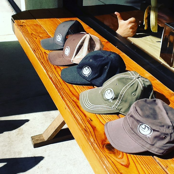 Y ou can choose from a variety of apparel options to include hats of all different types and colors.
