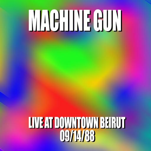Machine Gun Live in Downtown Beirut
