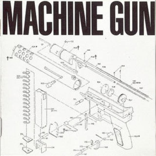 "Machine Gun   - Machine Gun with:Thomas Chapin, Robert Musso, Bil Bryant, John ""Lunar"" Richey, Jair-Rohm Parker Wells,Sonny Sharrock, Karl Berger"