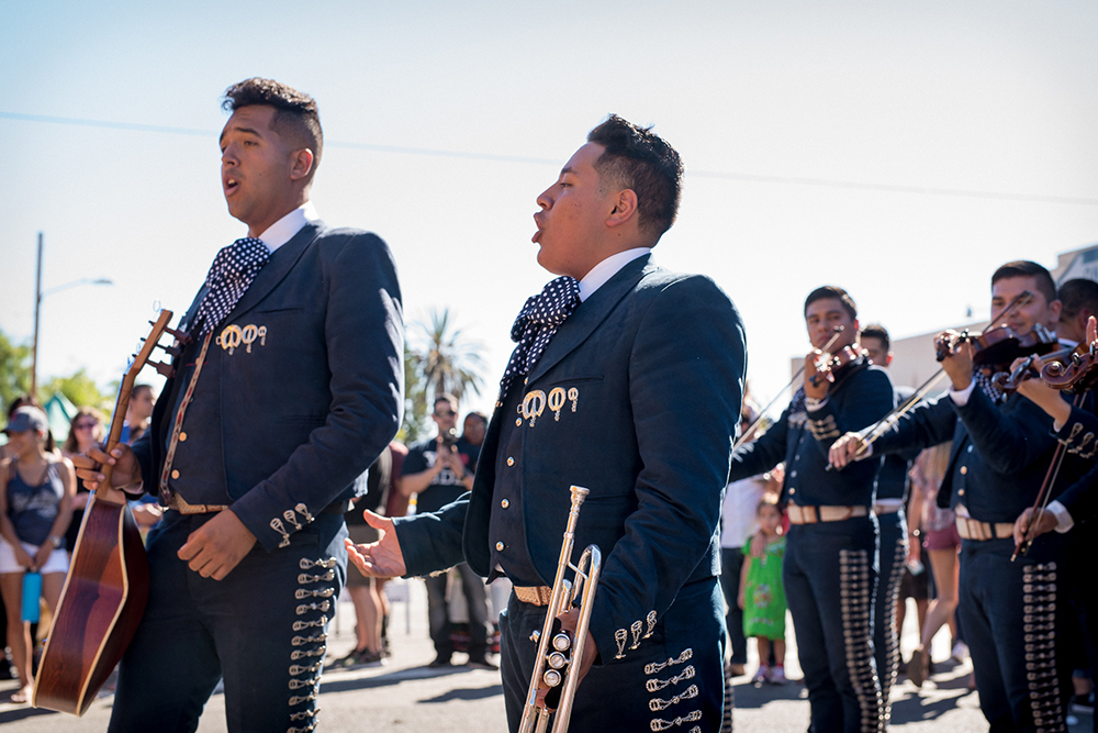 2017 Day of the Dead Festival—North Park Hosted by Artelexia—Mariachi Estrellas de Chula Vista