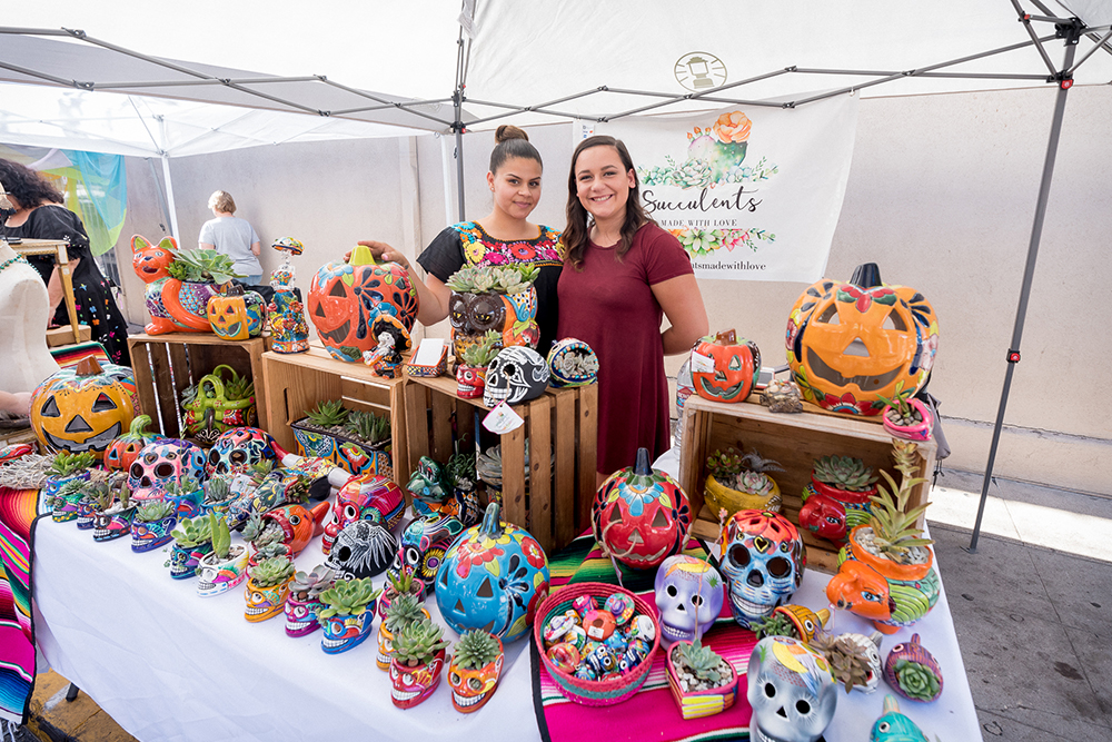 2017 Day of the Dead Festival—North Park Hosted by Artelexia—Succulents Made With Love