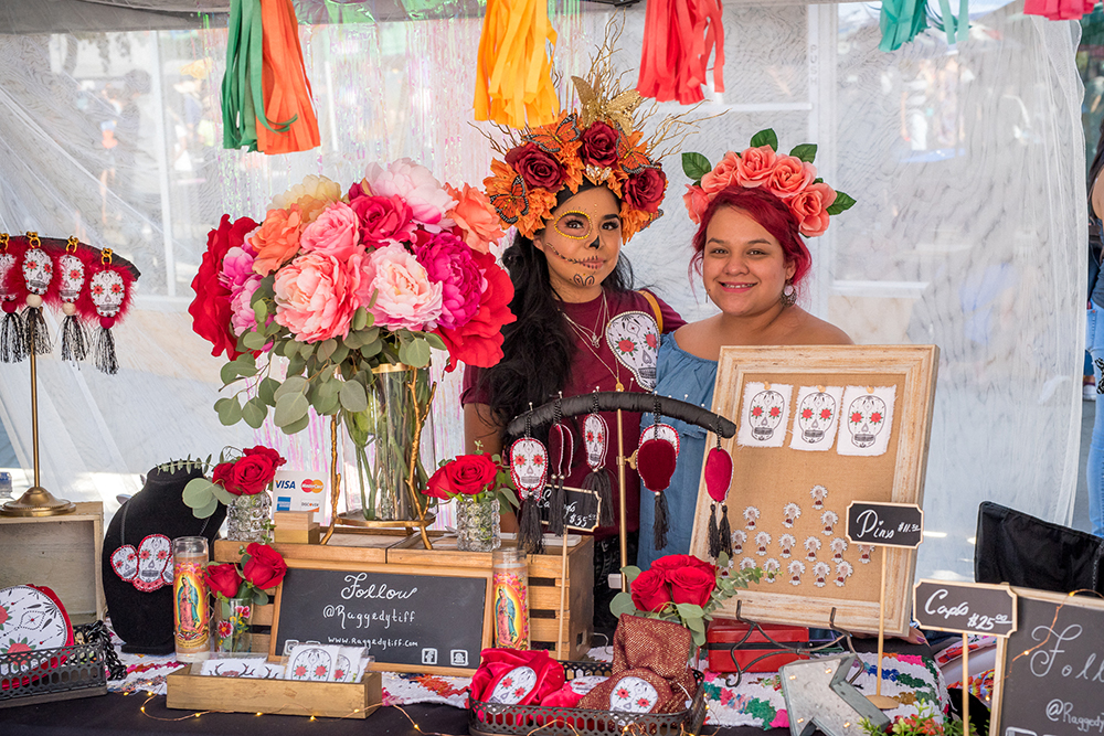 2017 Day of the Dead Festival—North Park Hosted by Artelexia—Raggedy Tiff