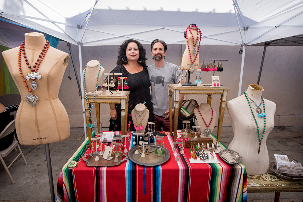 2017 Day of the Dead Festival—North Park Hosted by Artelexia—Tara Gasparian Jewelry