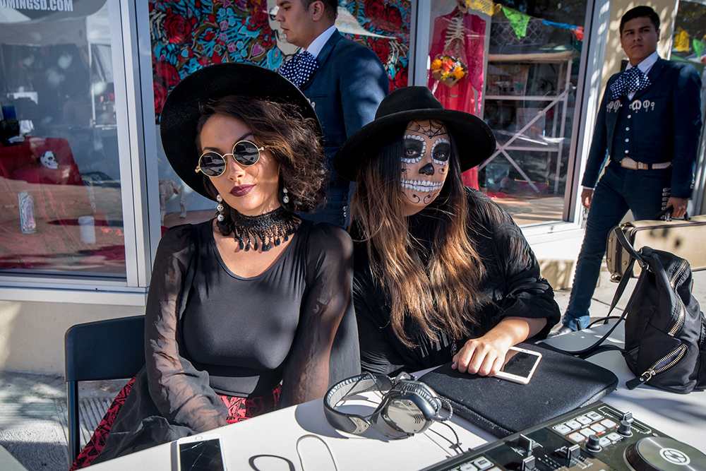 2017 Day of the Dead Festival—North Park Hosted by Artelexia—Queendom Tribe DJ