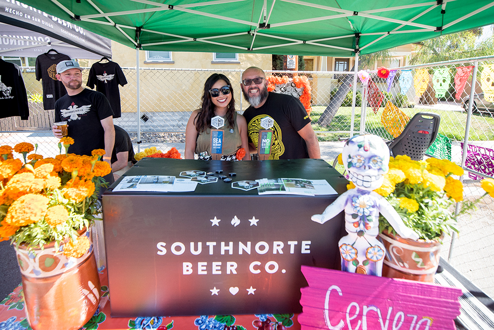 2017 Day of the Dead Festival—North Park Hosted by Artelexia—SouthNorte Beer Co.