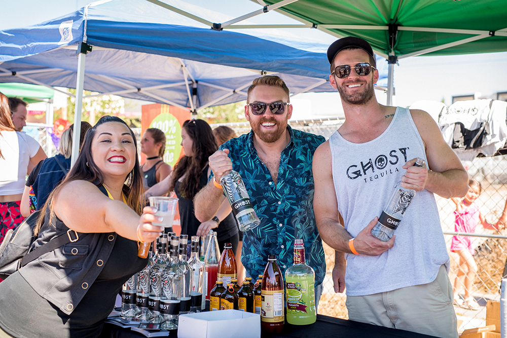 2017 Day of the Dead Festival—North Park Hosted by Artelexia—Ghost Tequila