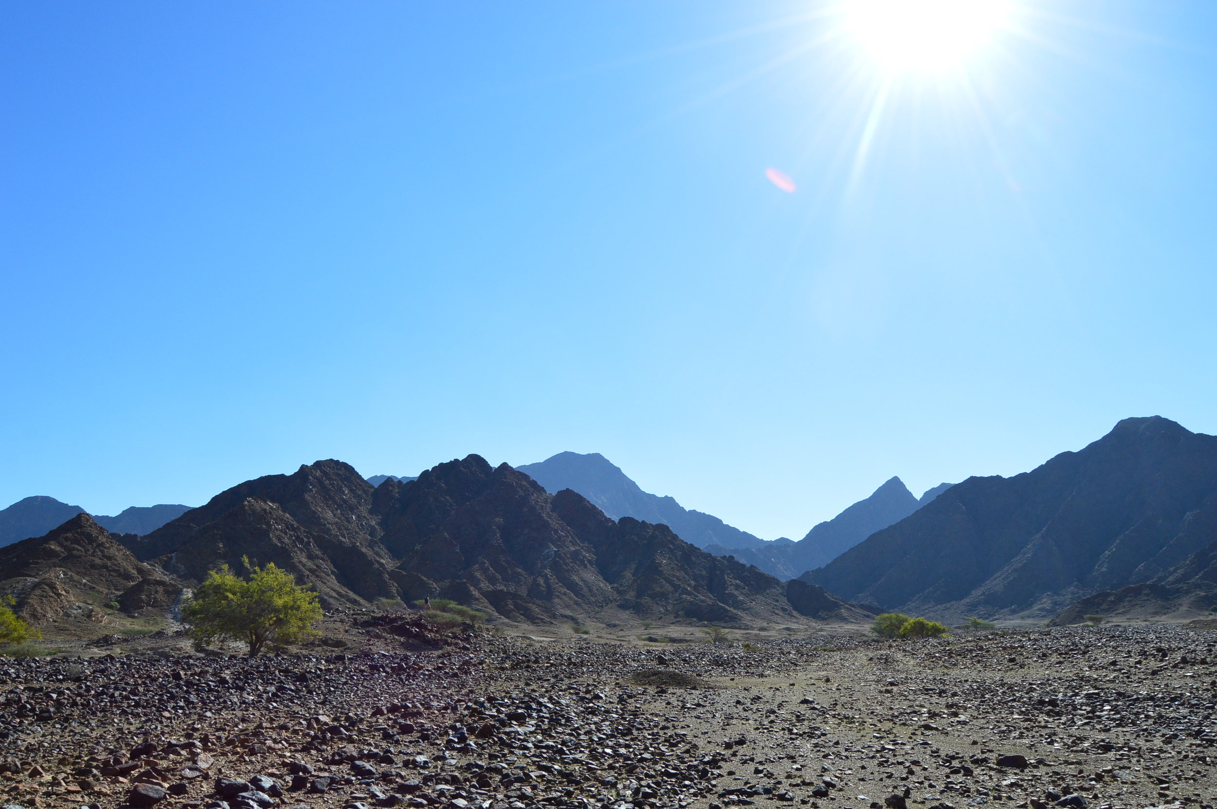 At least not until - we ventured out into Day 3 in Fujairah.