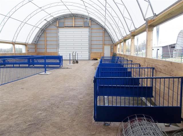 42' x 80' Goat Barn -