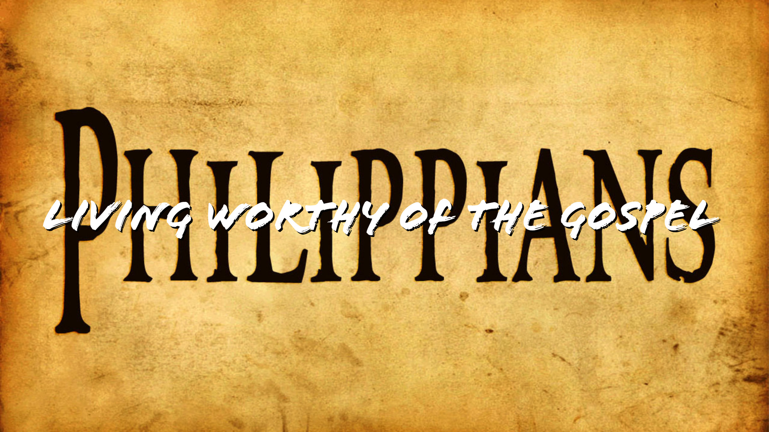 Check out the series on Philippians
