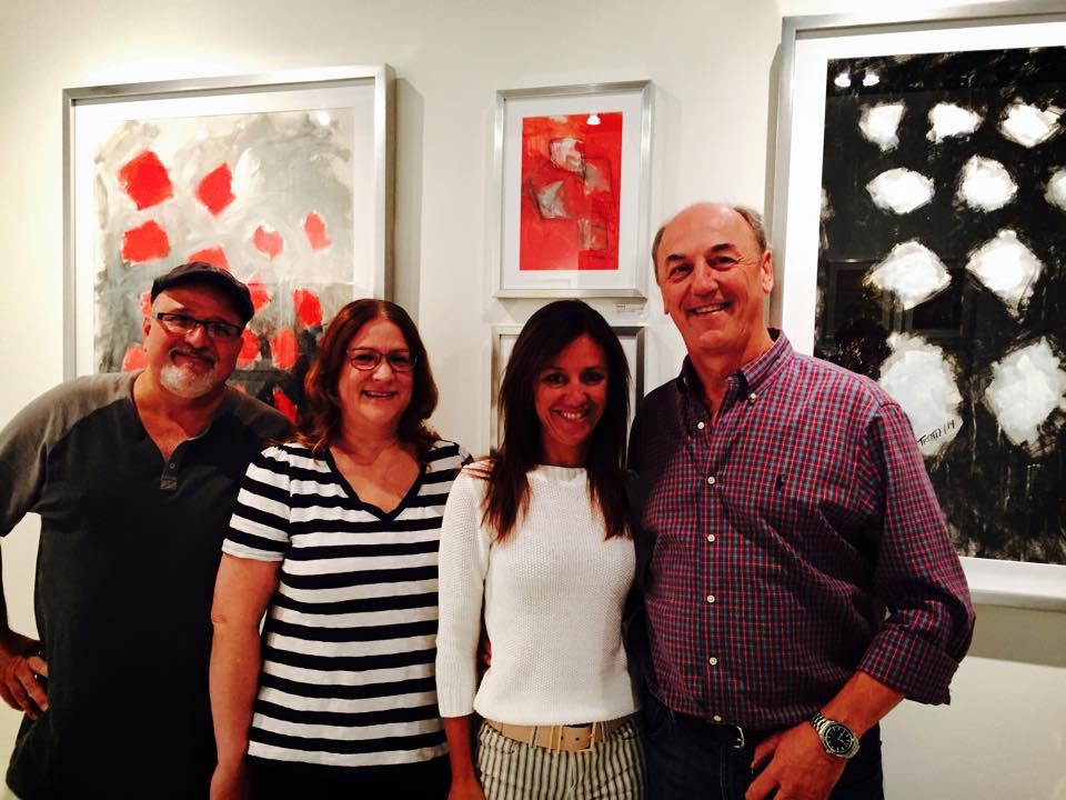 Tony Mendoza and Wife, with Graciela and Ricardo Trotti.