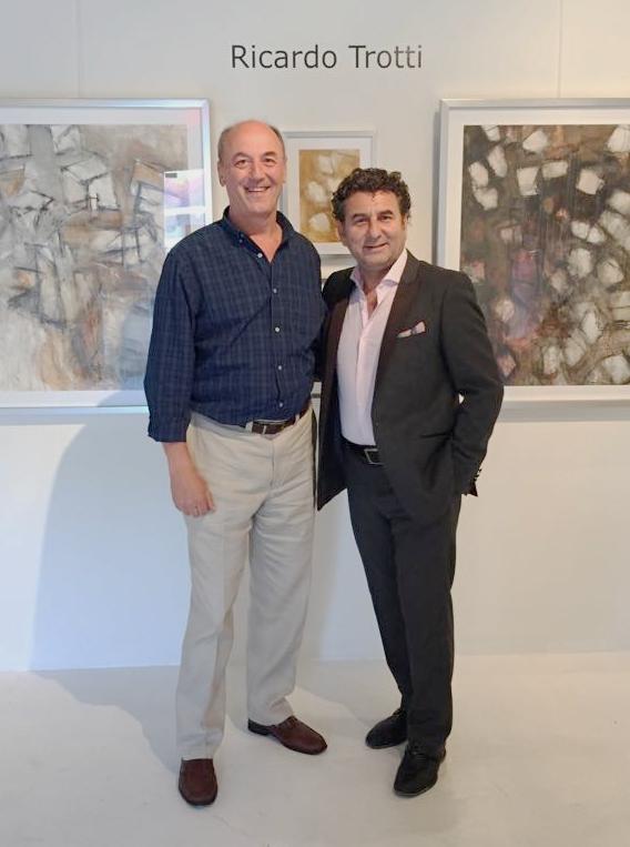 Ricardo Trotti with Eduardo Rubin