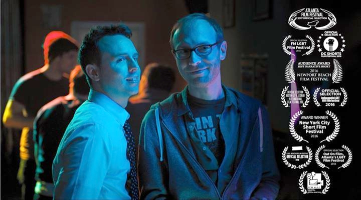 "Brian McManamon and Clayton Dean Smith in ""Seeking: Jack Tripper"""