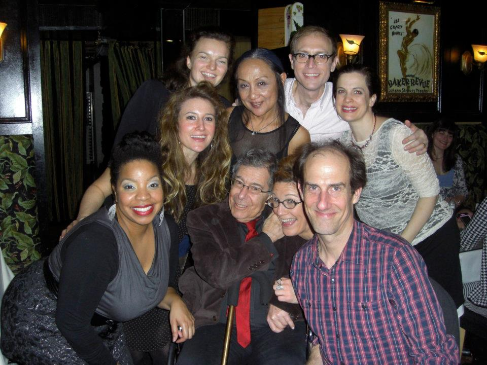 """The cast of Lisa Kron's """"The Veri**on Play"""""""