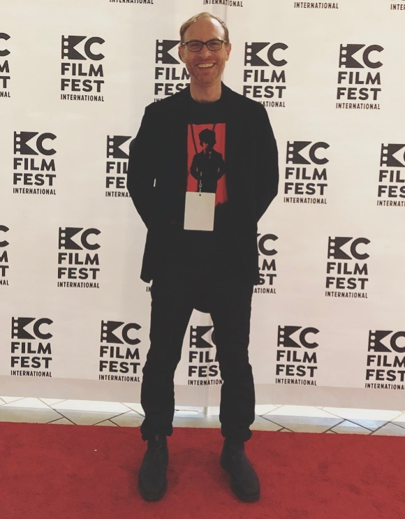 Clayton at the 2019 Kansas City FilmFest International