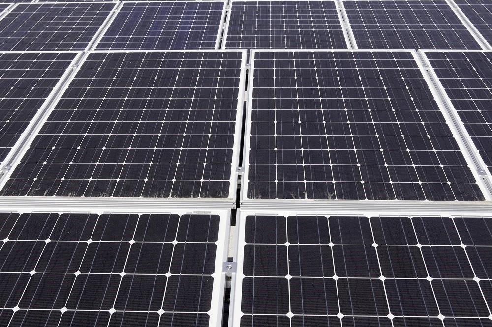 Large solar power panels