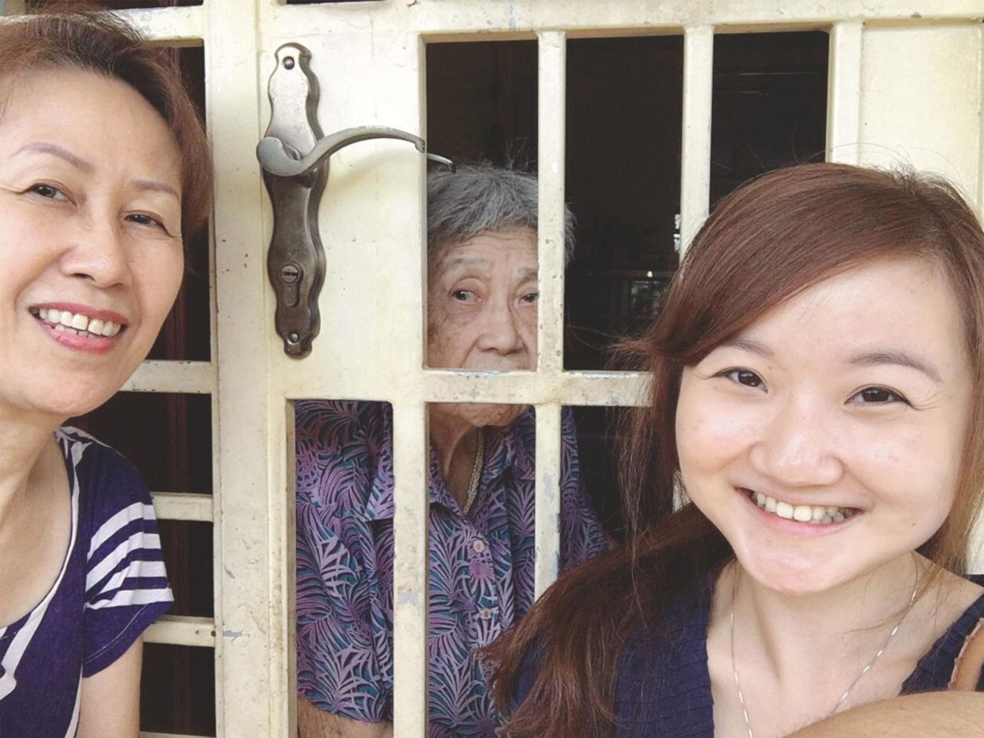 elderly in singapore