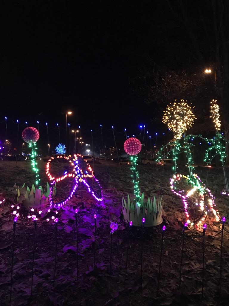lights at lafarge