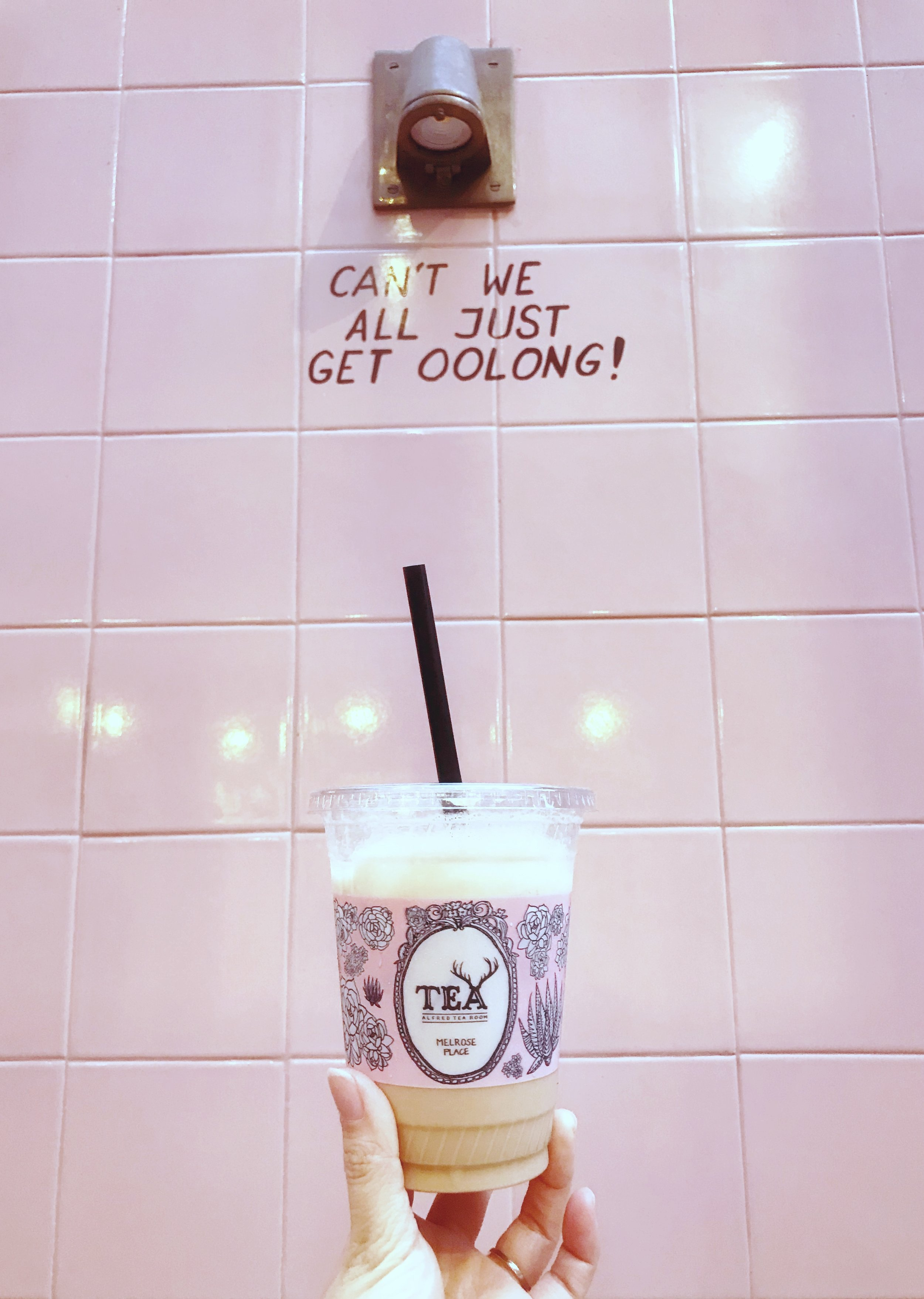 alfred tea cafes in la