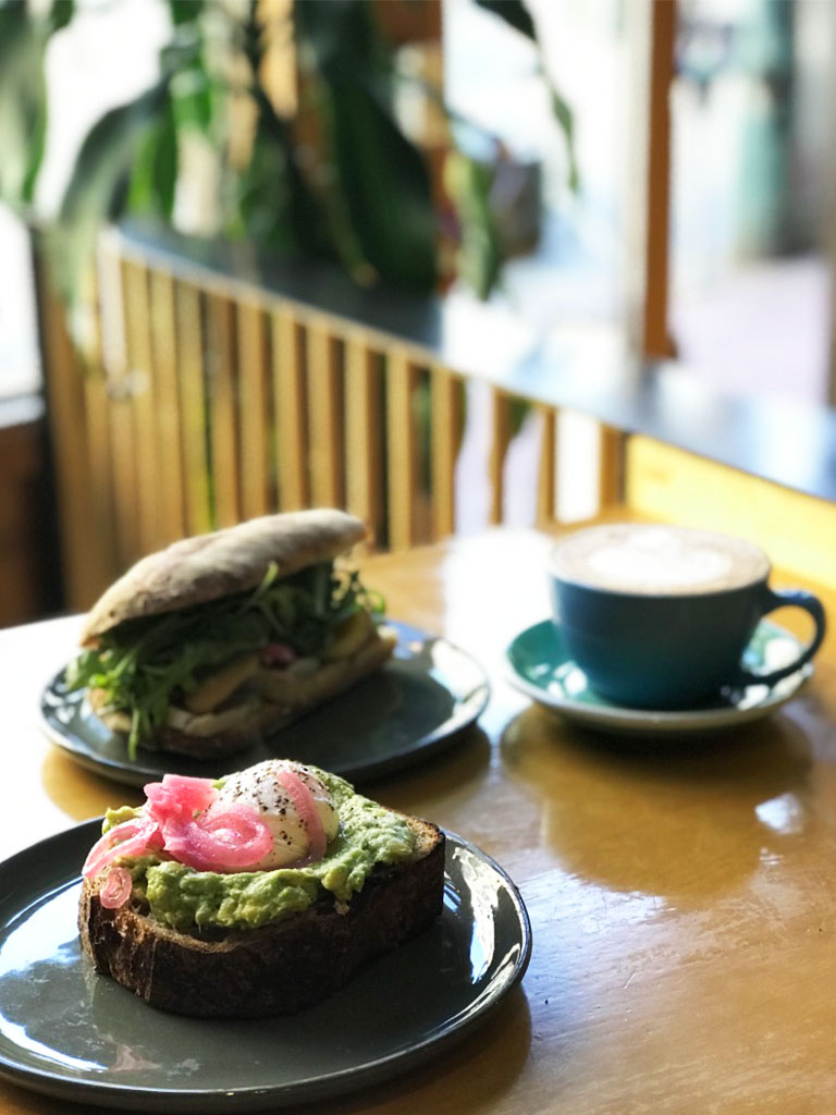vancouver cafes birds and the beets food review