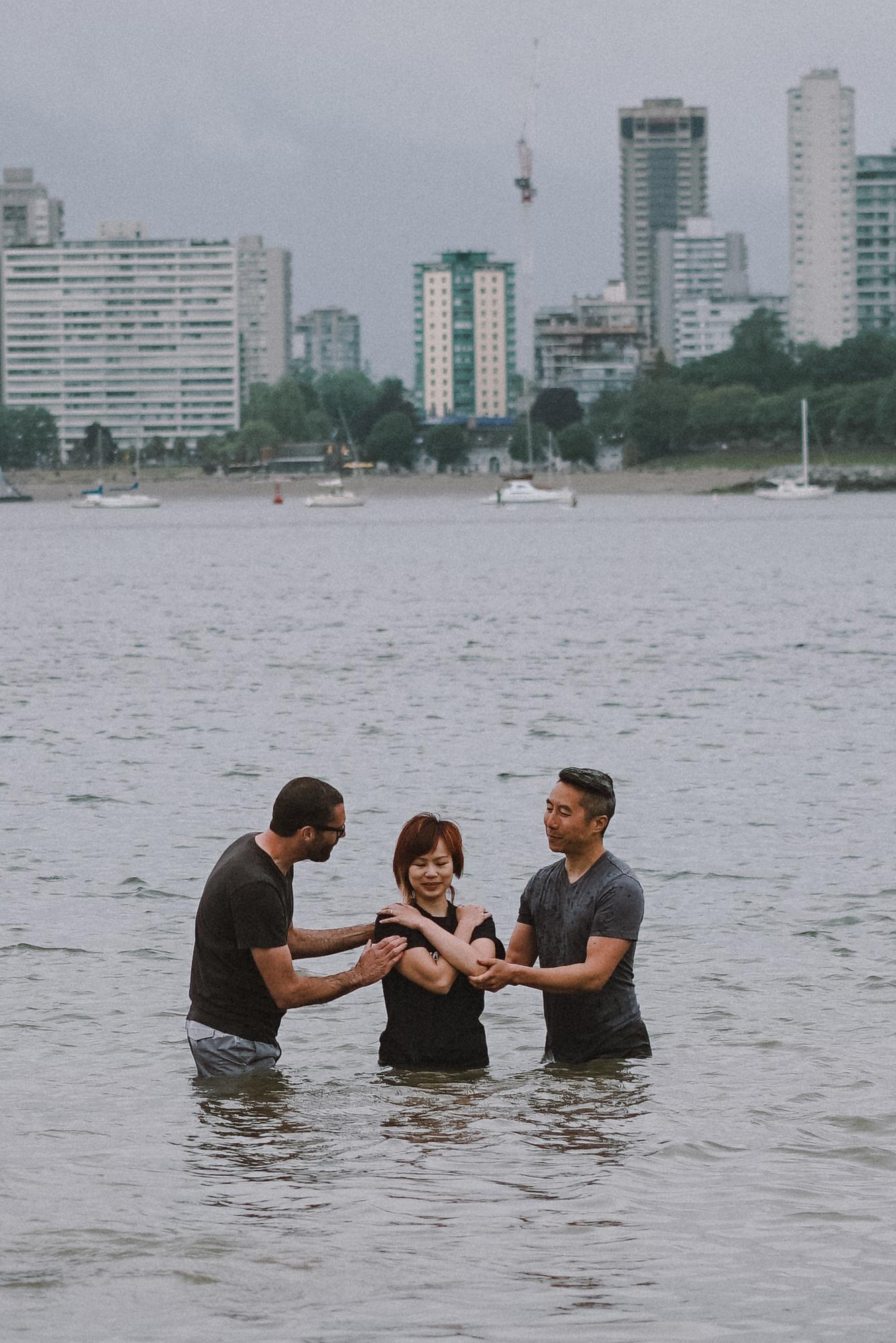 my baptism testimony