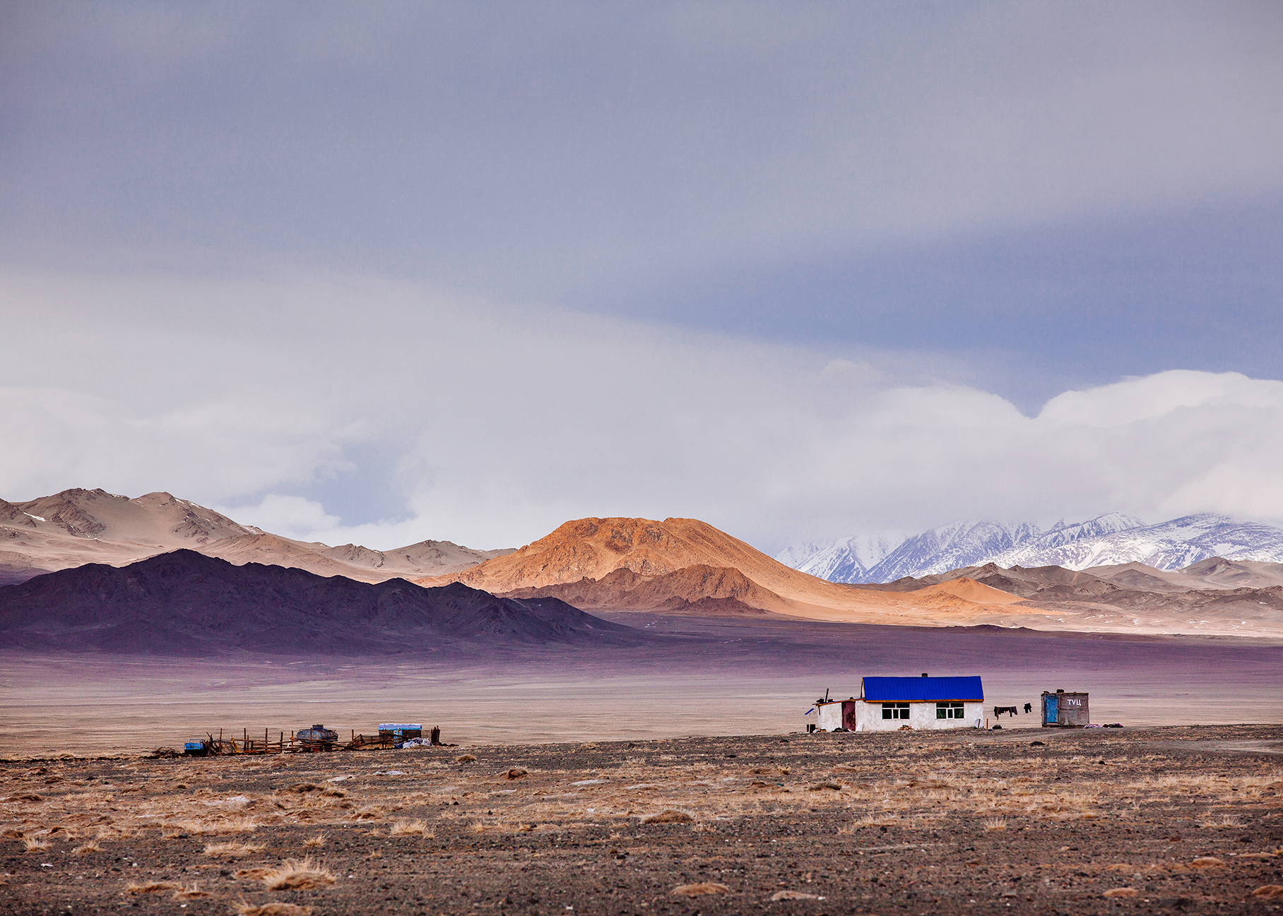 Lonely homestead, Mongolia