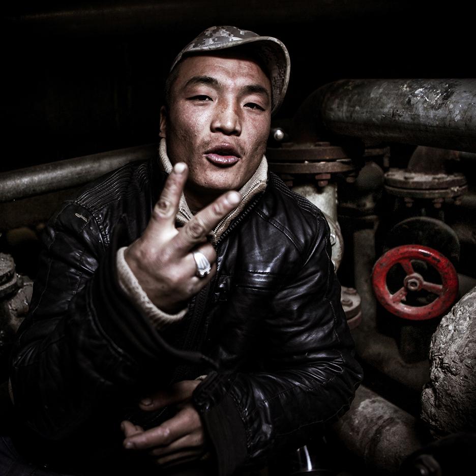 In the sewers beneath Ulanbaatar, Mongolia
