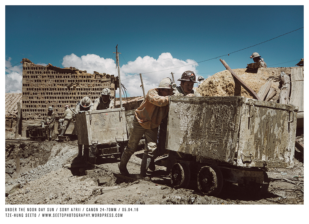 Bolivia, Potosi, Miners under the High Noon Sun_CP.jpg