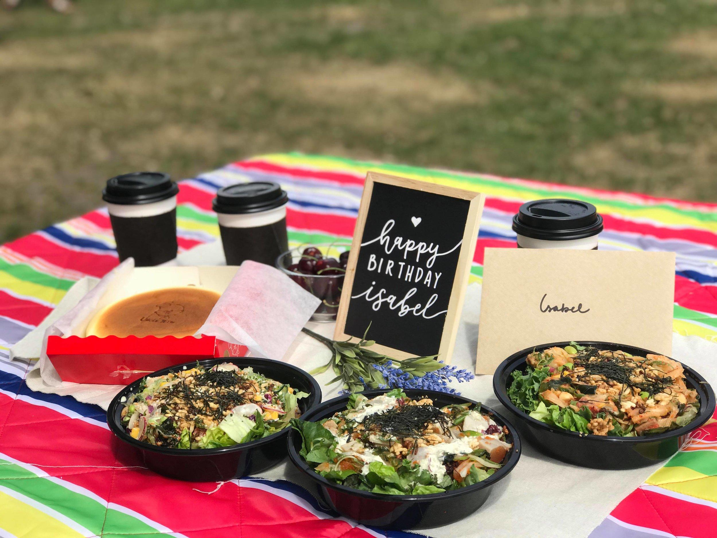 birthday picnic