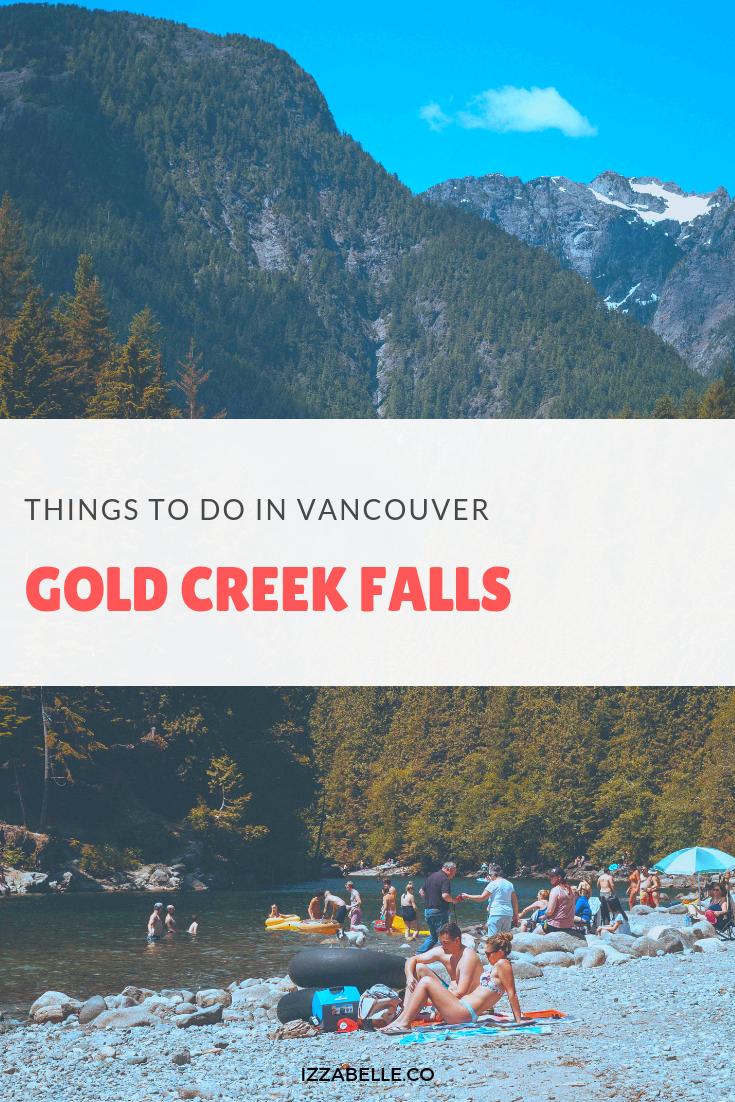 gold creek falls vancouver hikes