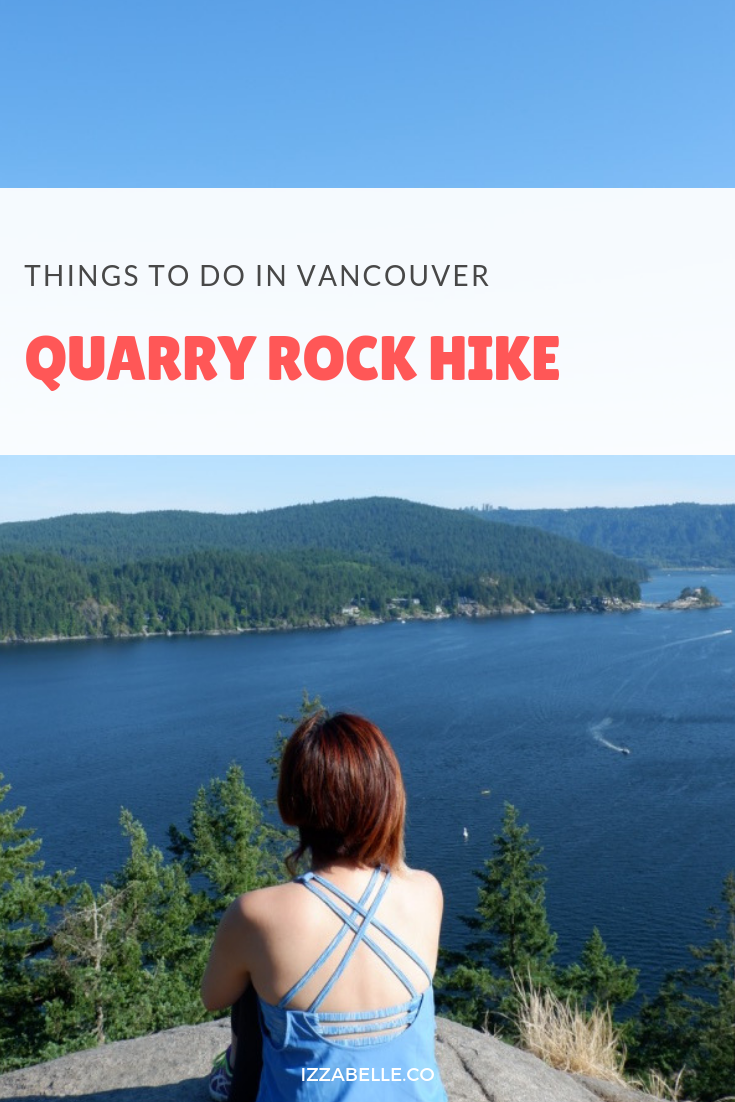quarry rock deep cove hike vancouver