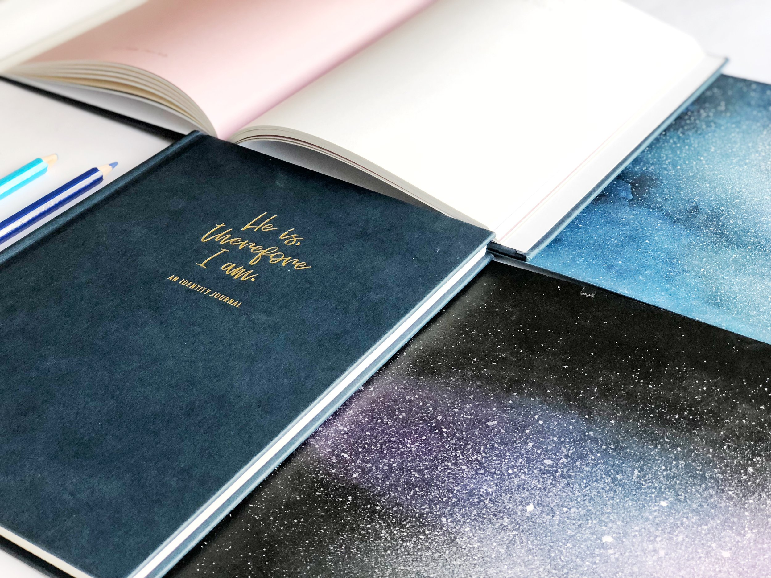the project j identity journal faith journey journaling