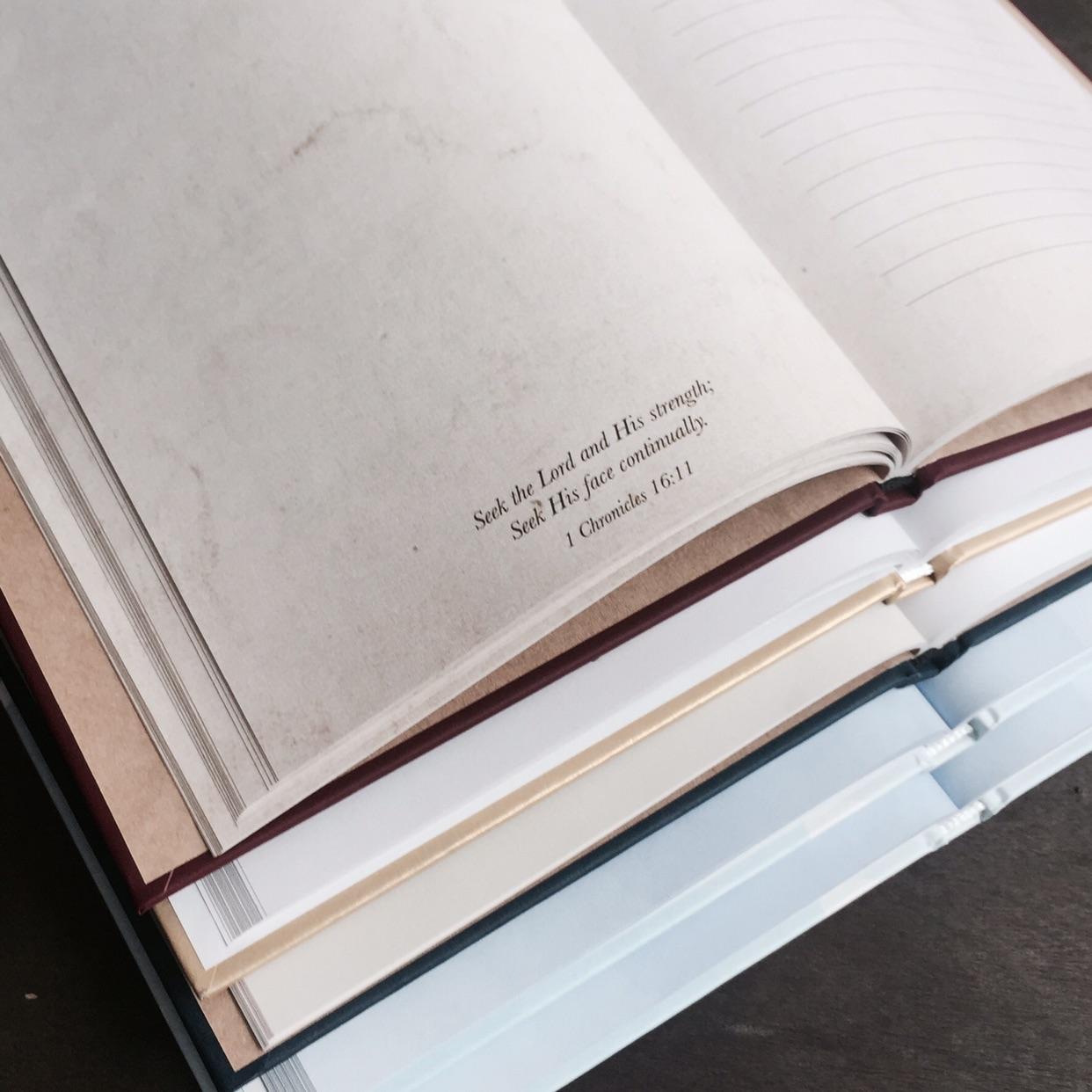christian journals inspiring faith bible habits
