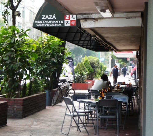 Sidewalk Zaza