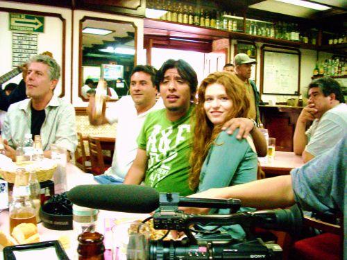 Anthony Bourdain cantina Mexico City / David Lida