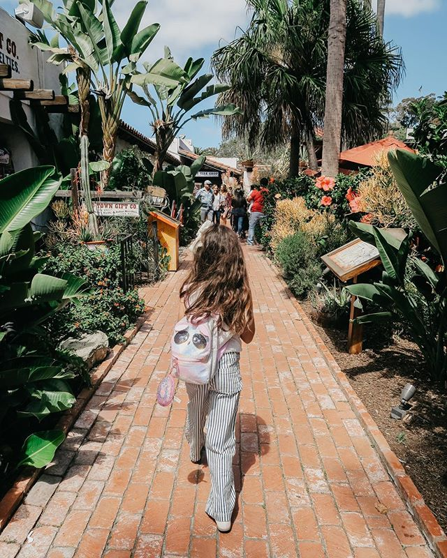 Only 4 more days until I'm reunited with my munchkin ✨💕 . . . #sandiego #oldtown #niece #valencia #canon #california #travel #visitcalifornia