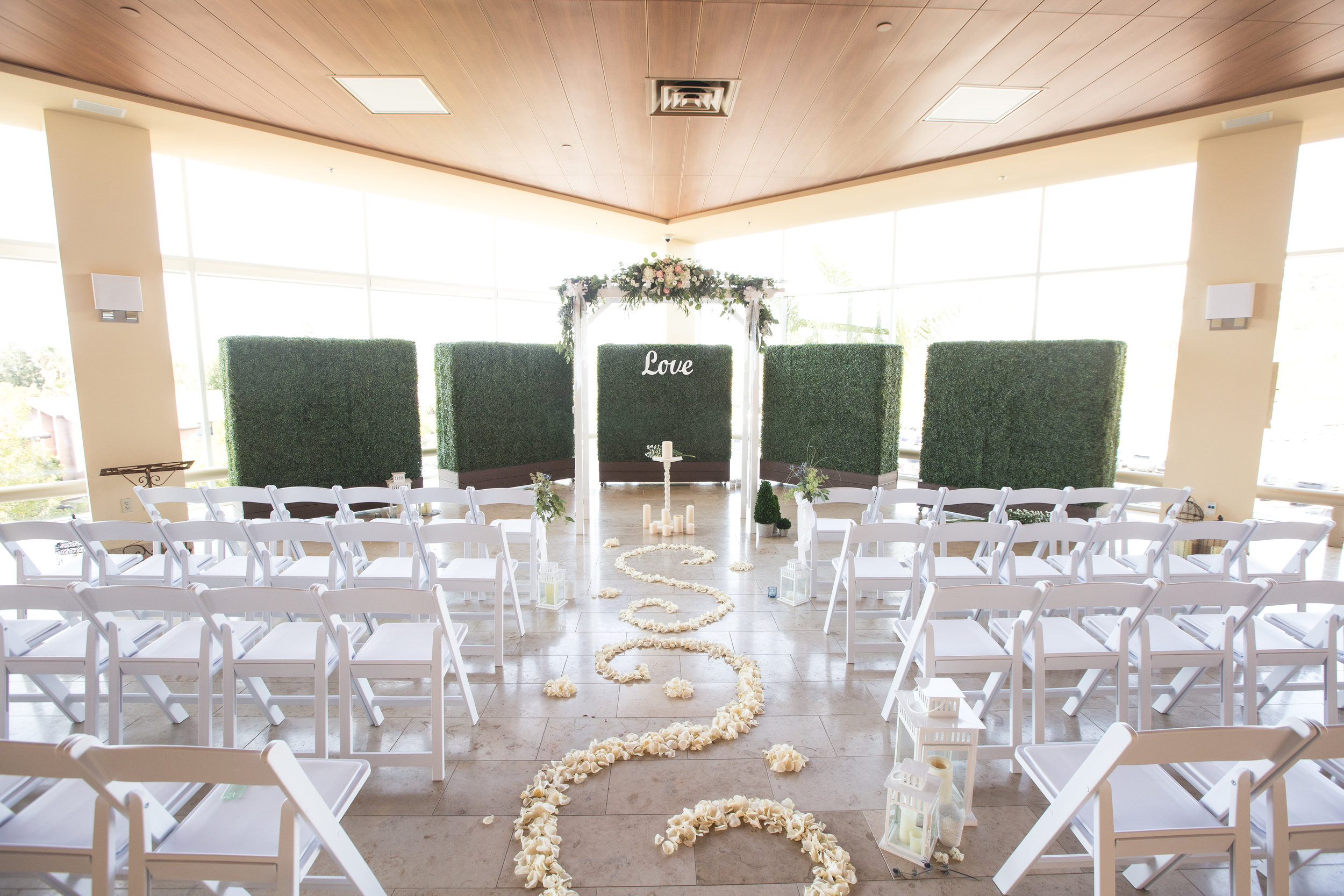 San Diego Event Planning | Events By Lift | Wedding Ceremony Archway