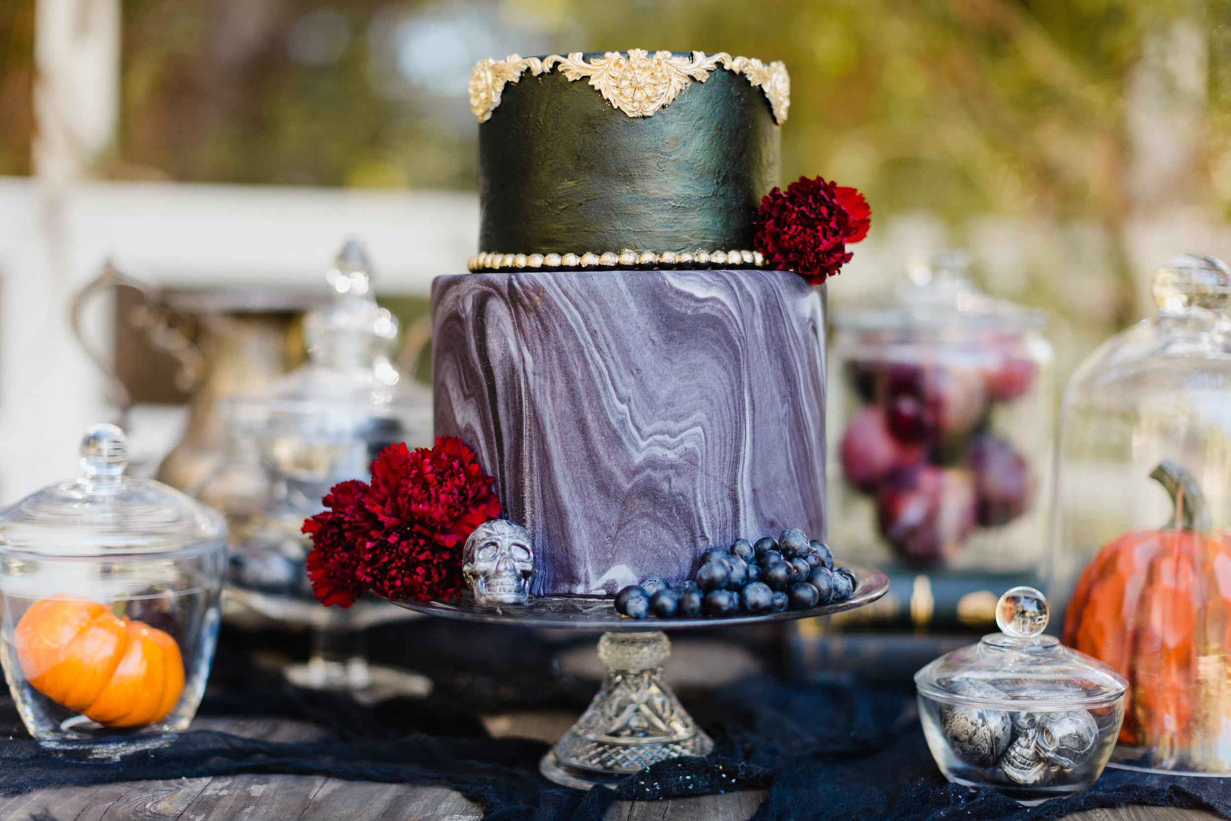 Crystal Glass Cake Stand - $10.00
