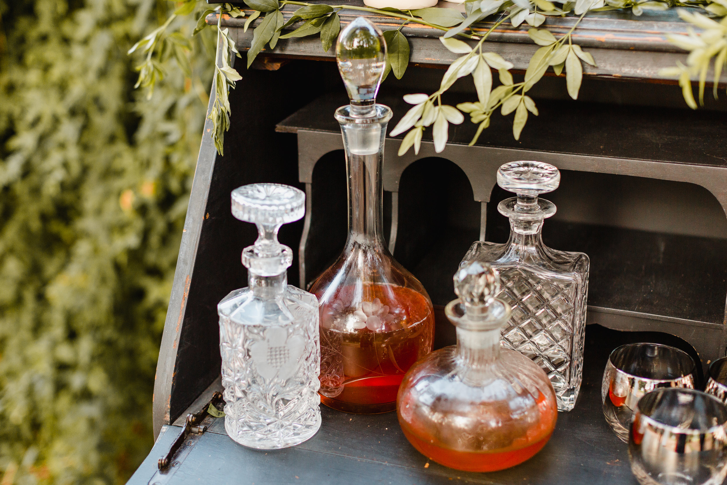 Decanter Set - $40.00 for set of 4