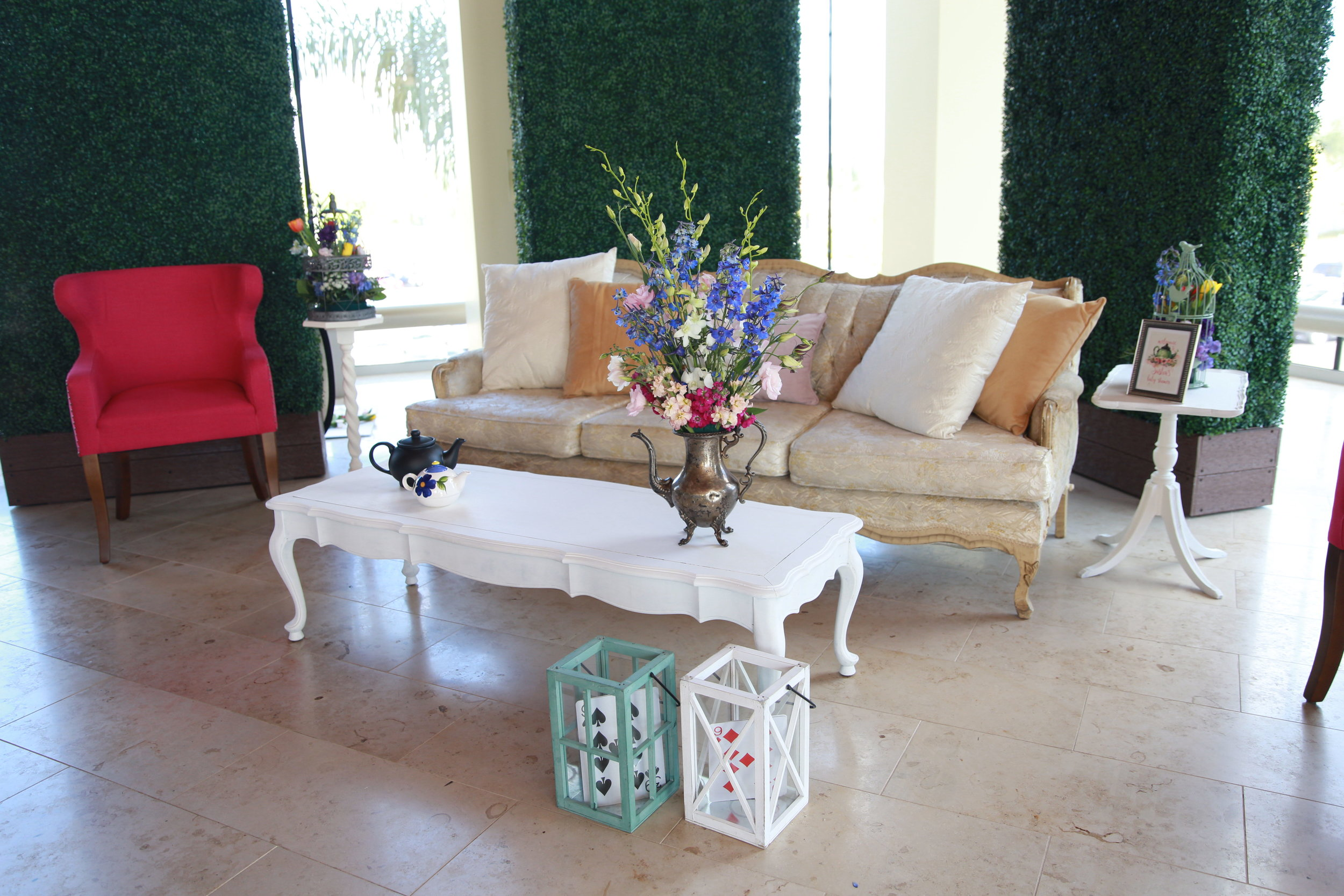 San Diego Event Planning | Events By Lift | Lounge Area