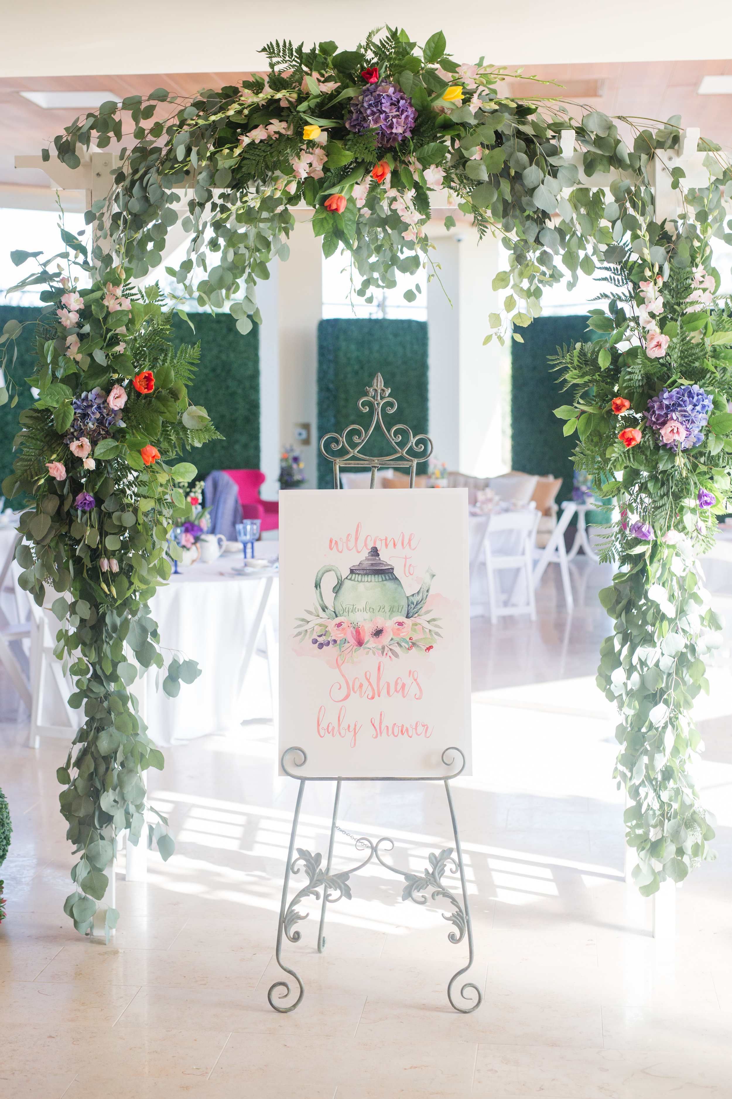 San Diego Event Planning | Events By Lift | Floral Arch