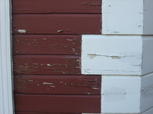 Paint failure due to adhesive and cohesive epoxy failure