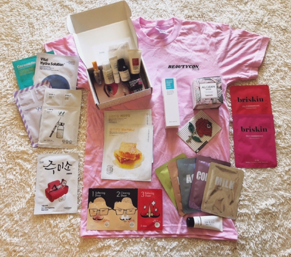 Jane's haul - don't be fooled, she got boxes of masks but only showed the individual masks here.