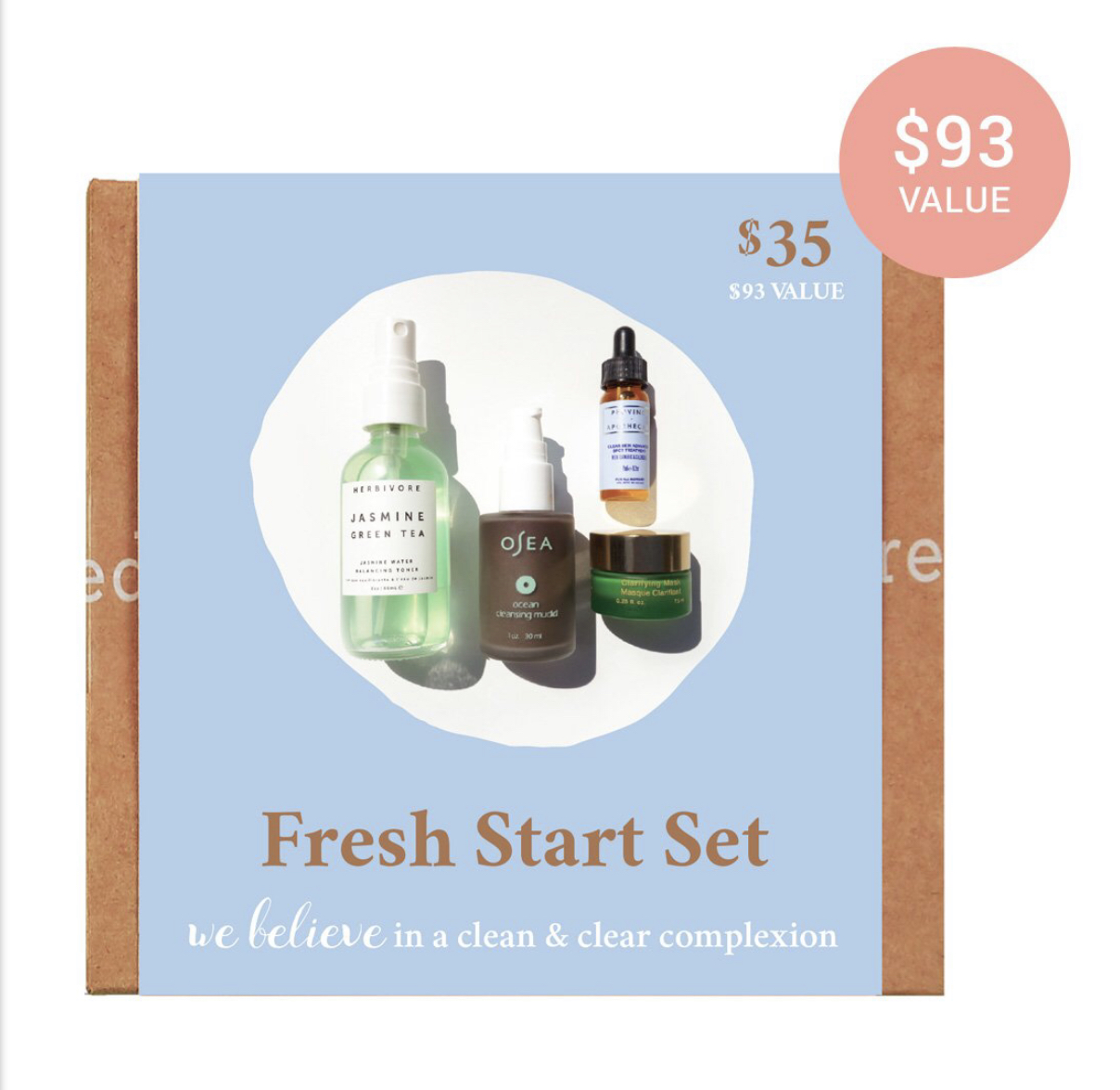 Credo Beauty Fresh Start Set