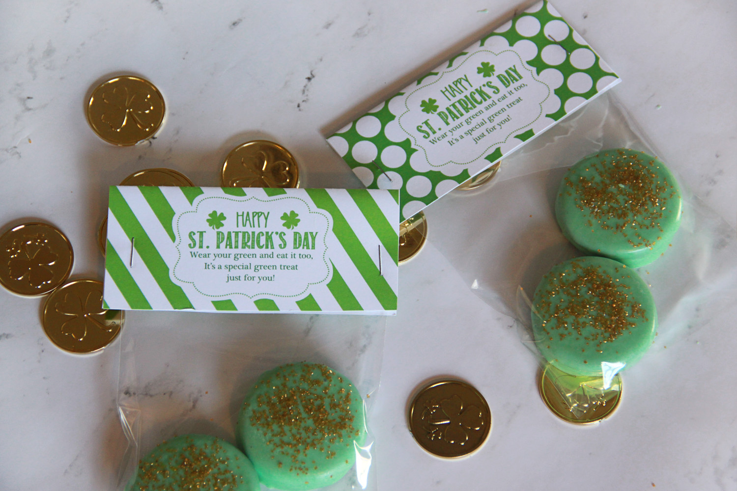 St. Patrick's Day Labels