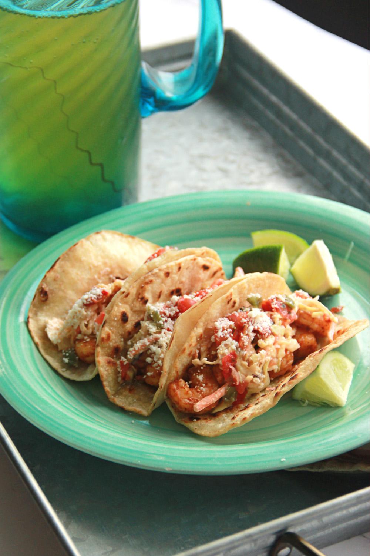 Homemade Shrimp Tacos
