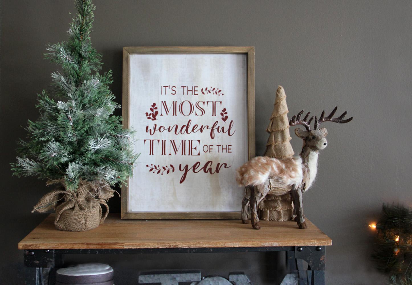 Free Christmas Art Print