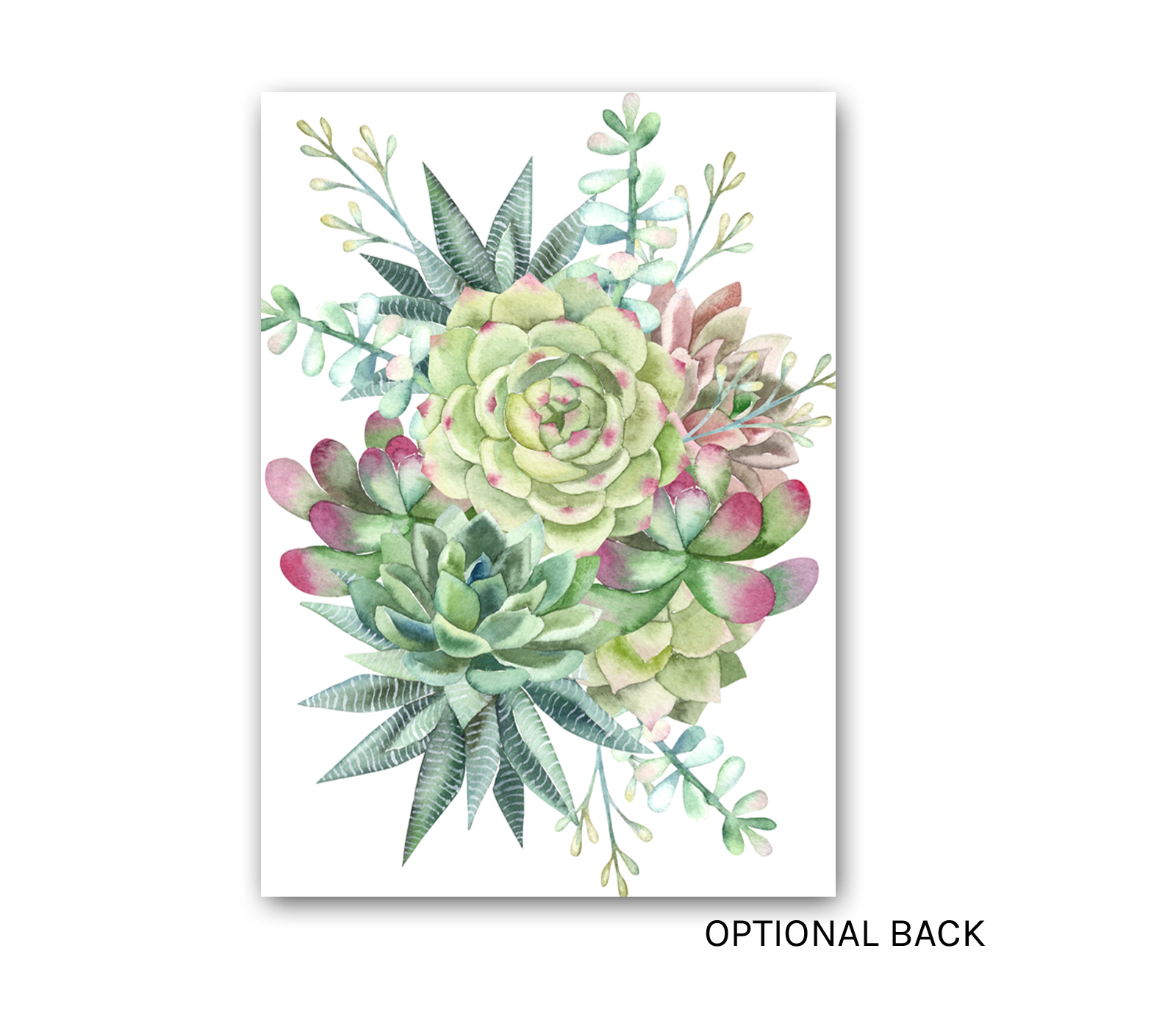 Succulent Bridal Shower Invitation Green Blue Gold Southwest Wedding Shower Invite Digital Or Printed E Three Design Studio